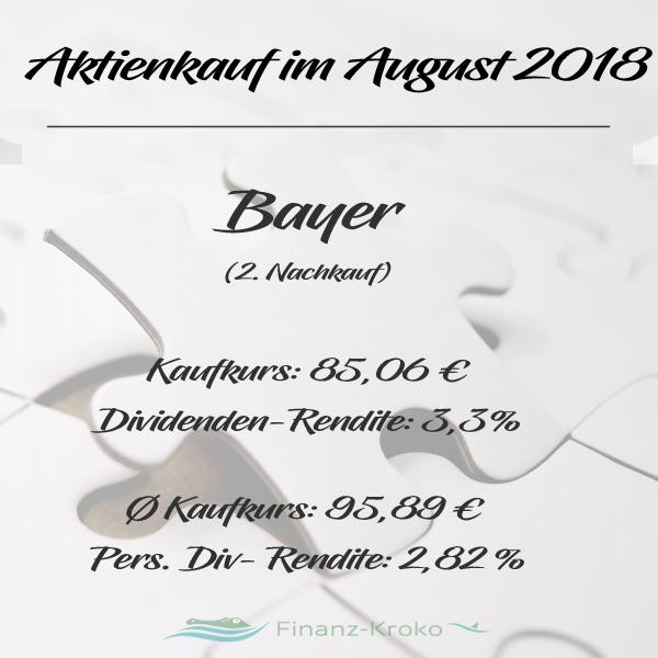 Aktien Nachkauf Bayer