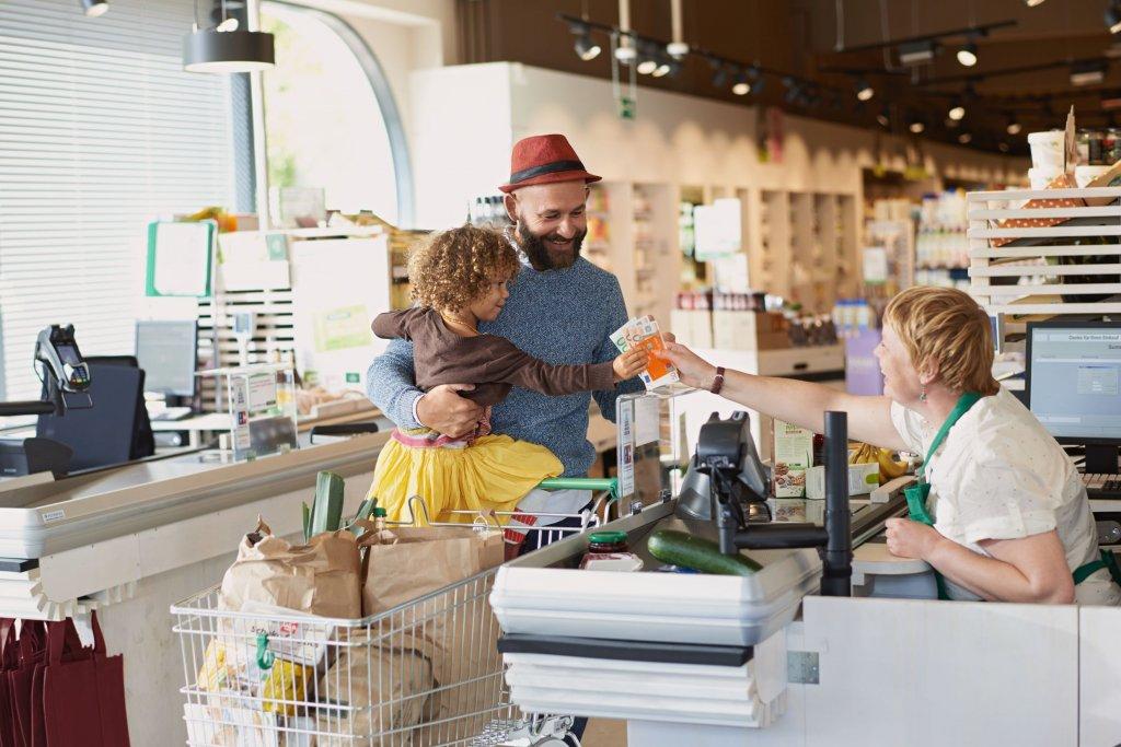 Bargeld im Supermarkt mit ING-DiBa girocard