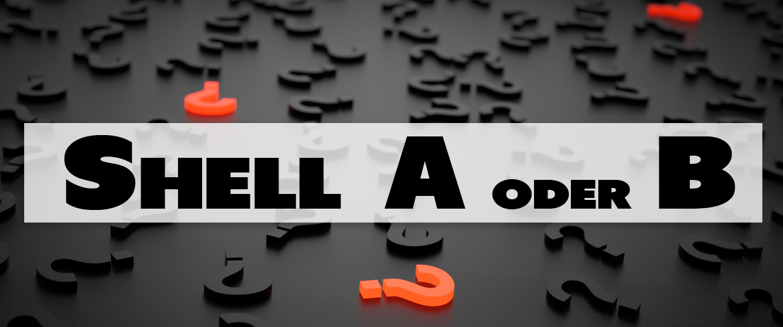 Fragezeichen-Shell-FAQ